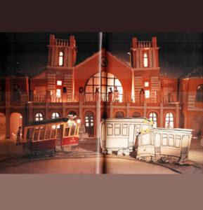 Два-трамвая-Иллюстрация-Вокзал