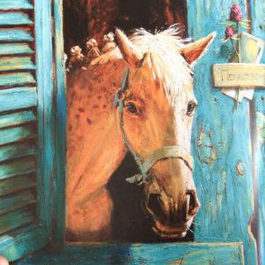 Воробей-и-фокусник-Иллюстрация-Лошадь
