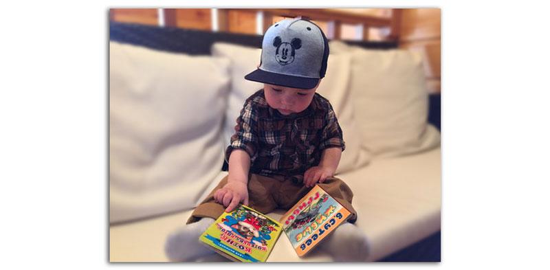 Монтессори-уголок для чтения