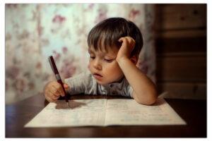 с чего начать обучение письму дошкольника