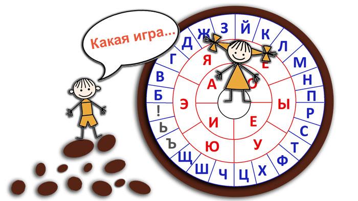 Учим буквы через игру
