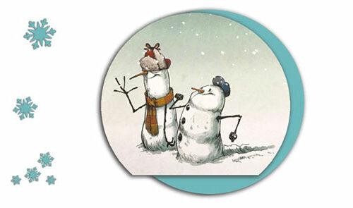 Стишки-про-Снеговиков-для-детей
