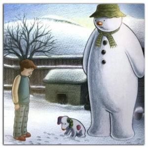 Снеговик-и-снежный-пес