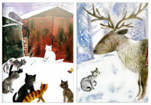 Котофеи-Все-новогодние-истории-иллюстрации