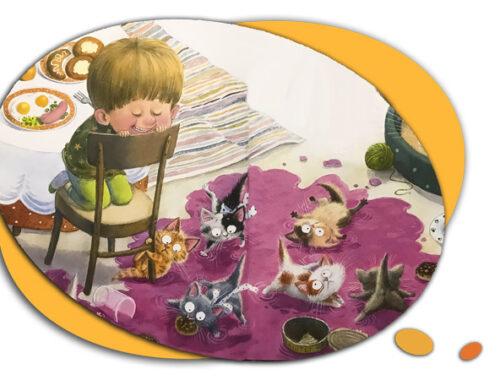 Стихи-Натальи-Карповой-про котиков-для-малышей-короткие