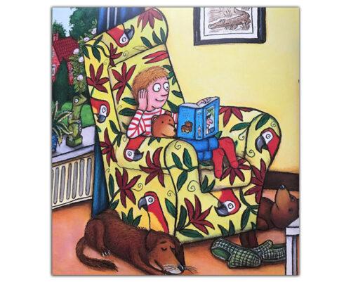 Любимая-книжка-Чарли-Кука-иллюстрация