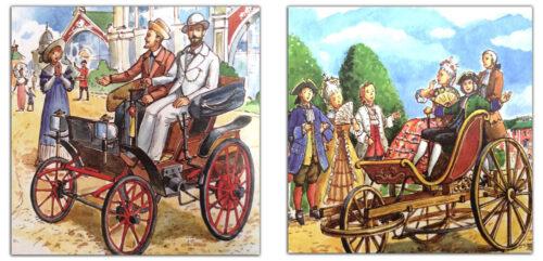 Легендарные-автомобили-России-иллюстрация-из-книги
