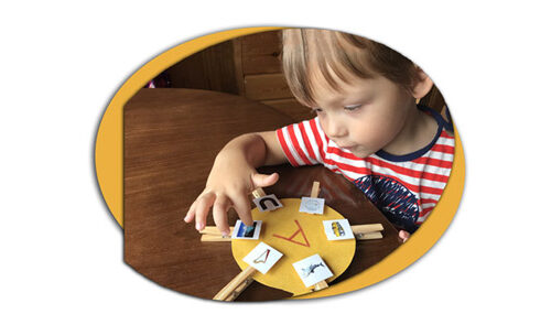 Учим буквы с помощью веселых игр для детей 3 5 лет