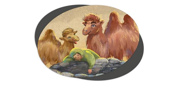 Сказка-про-верблюдов-для-детей-читать
